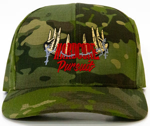 Hardcore Pursuit Tropic Camo Snapback Hat