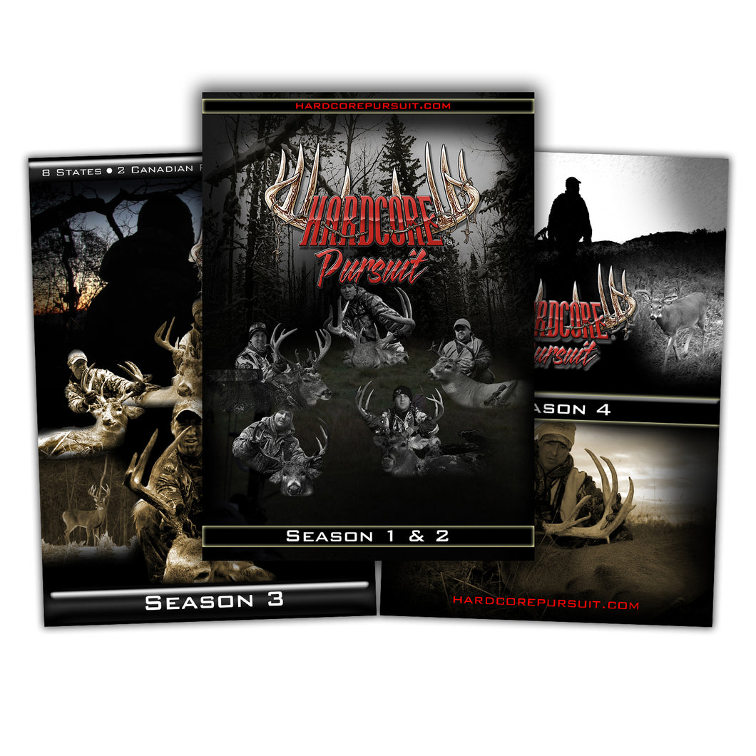 Hardcore Pursuit Season 1-4 Bundle