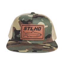 Load image into Gallery viewer, STLHD Camo Flat Bill Snapback Hat - hhoutfitter