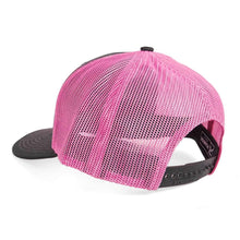 Load image into Gallery viewer, STLHD Standard Pink & Charcoal Trucker Snapback Hat - hhoutfitter