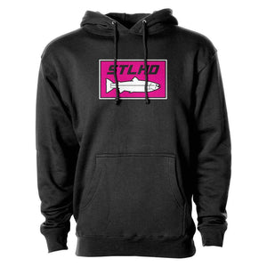 STLHD Neon Pink Premium Hoodie - hhoutfitter
