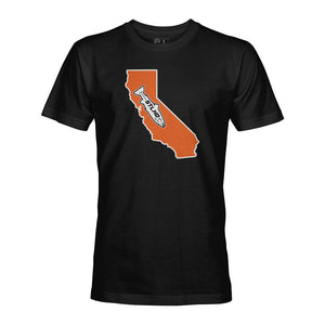 STLHD California State Frame T-Shirt - hhoutfitter