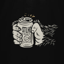 Load image into Gallery viewer, STLHD Drinking Buddy Black T-Shirt - hhoutfitter