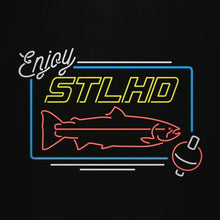 Load image into Gallery viewer, STLHD Neon Black T-Shirt - hhoutfitter