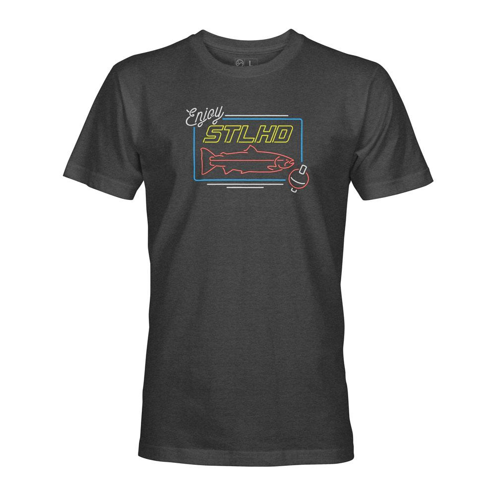 STLHD Neon Charcoal T-Shirt - hhoutfitter