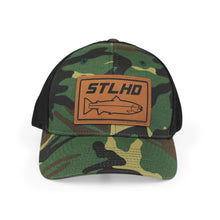 Load image into Gallery viewer, STLHD South Fork Camo Flexfit Trucker Hat - hhoutfitter
