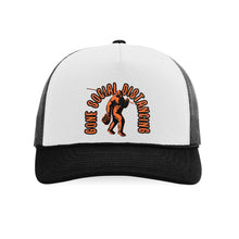 Load image into Gallery viewer, STLHD Gone Social Distancing Old School Foam Front Trucker Hat - hhoutfitter