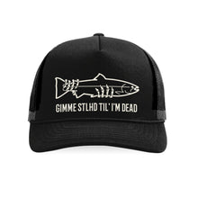 Load image into Gallery viewer, STLHD Gimme STLHD Old School Foam Front Trucker Hat - hhoutfitter