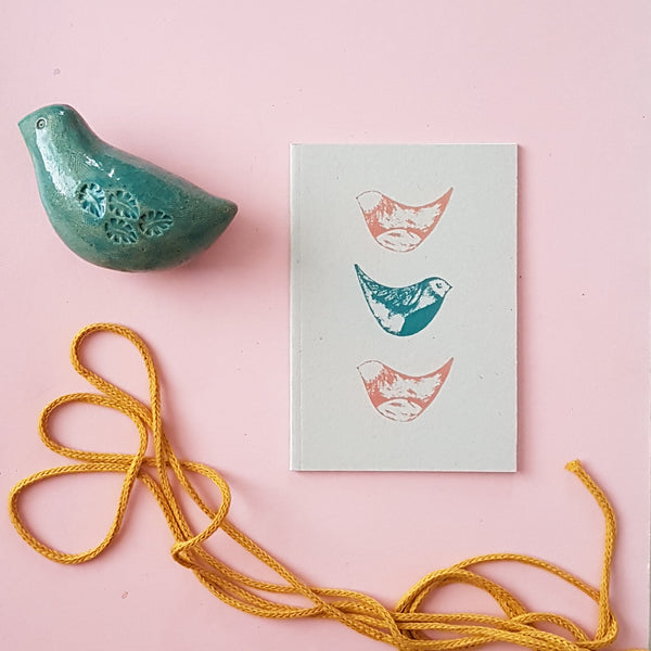 Little Birds Blank Notebook