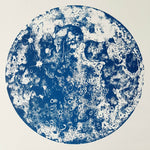 Blue Moon Screen Print