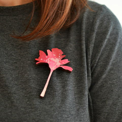 Sweet Flower Brooch