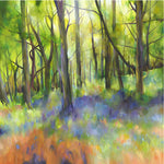 Woodlands and Sunbeams Greetings Card