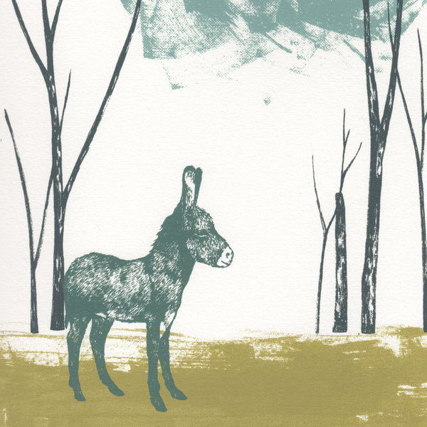 Little Donkey Limited Edition Screenprint