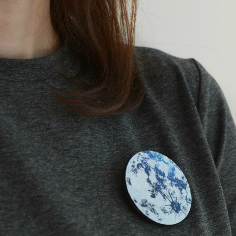Moon Seekers Brooch