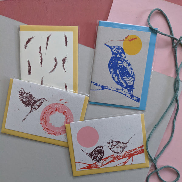 Card Pack- birds