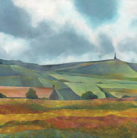 Stoodley Pike Greetings Card