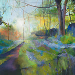 Sunlight and Bluebells Giclée Print