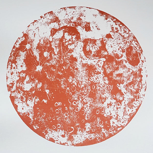 Bronze Moon Screen Print