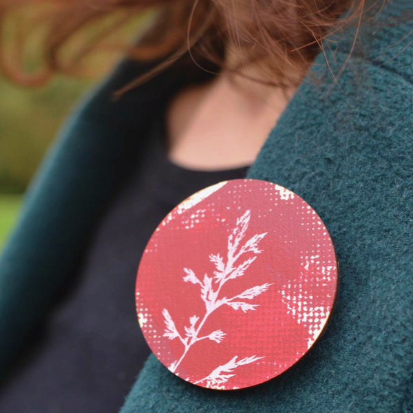 Grasses Brooch