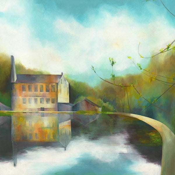 Gibson Mill Greetings Card
