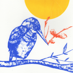 Kingfisher and Sunshine Screen Print