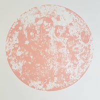 Pink Moon Screen Print
