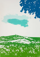 Stoodley Pike Screen Print