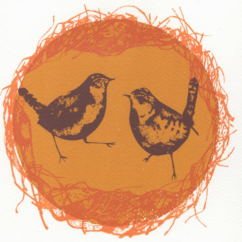 Wren's Nest Screen Print