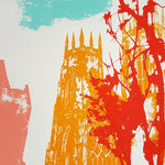 York Minster Screen Print