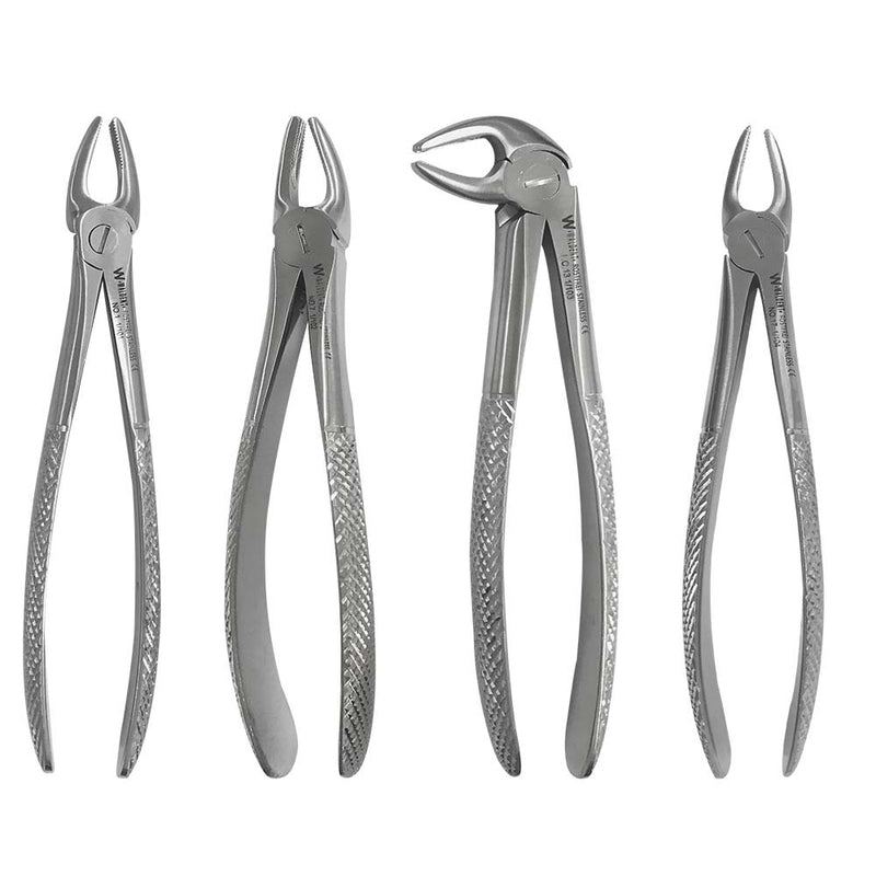 Waldent Wal-Extract Extraction Instruments Forceps Kit Set of 12 (K1/1)
