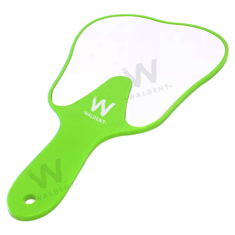 Waldent Tooth Shape Hand Mirror