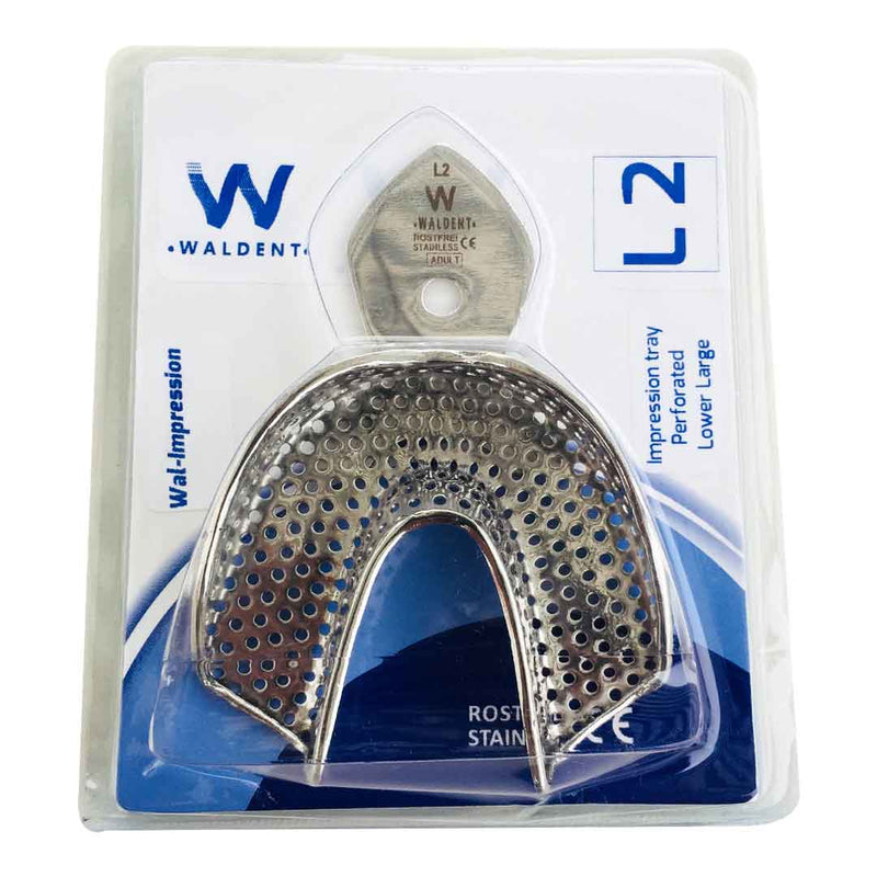 Waldent Rim-Lock Impression Trays