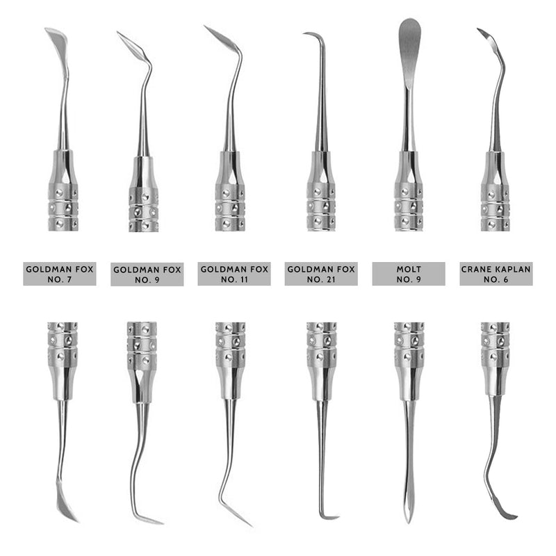 Waldent Periodontal Kit Set of 15 (K15/6)