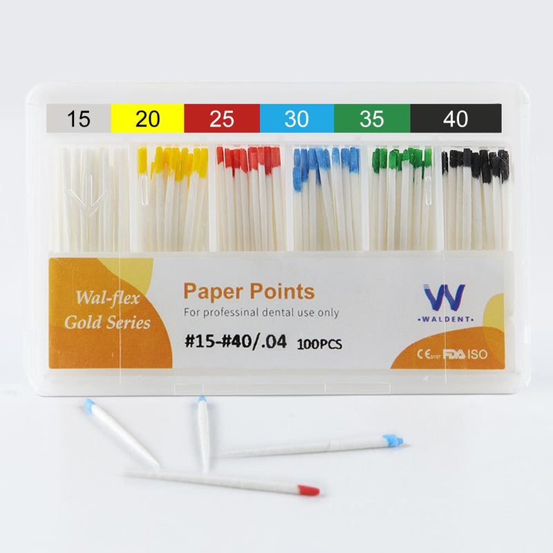 Waldent Paper Points 4%