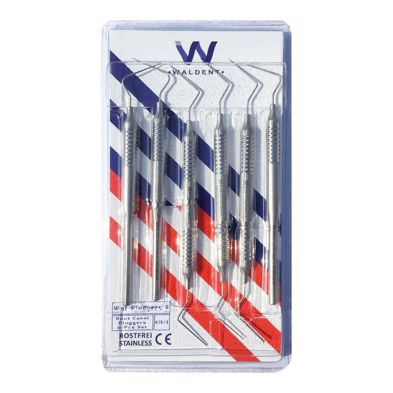 Waldent Root Canal Pluggers Set of 6 (K15/3)