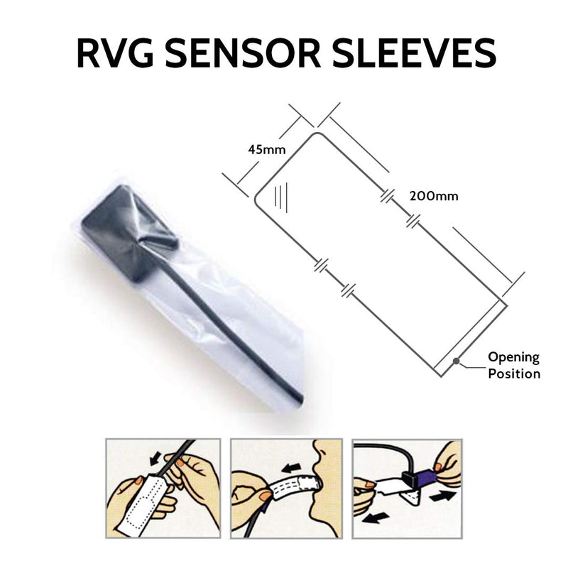Waldent RVG Sensor Sleeves (Pk Of 500)