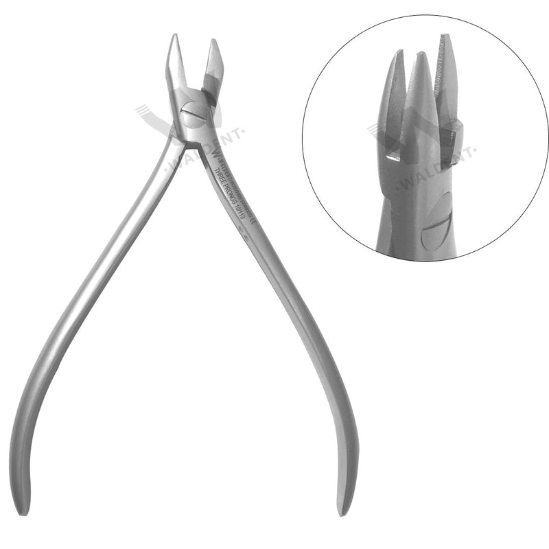 Waldent Orthodontic Three Prongs Pliers 10/113
