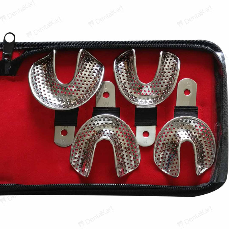 Waldent Edentulous Perforated Impression Trays Set K18/1