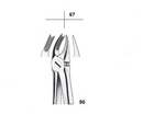 Waldent Tooth Extraction Cowhorn Forceps Upper Molars Left, No.90 (1/116)