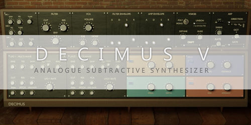 DECIMUS - Analogue Subtractive Synthesizer
