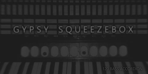GYPSY SQUEEZEBOX - Characterful 120 Bass Accordion