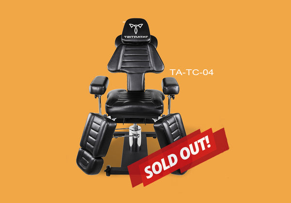 TA-TC-04 Tattoo Client Chair Sold Out Notice