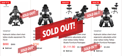 Surprise news-TatArtist client chair sold out