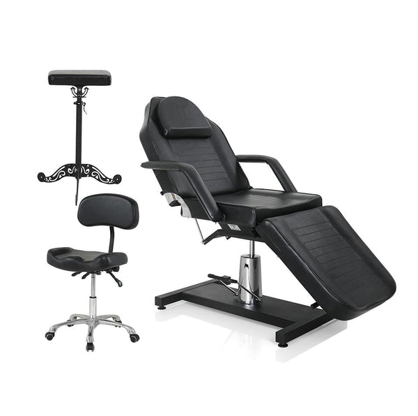 Tattoo Foot Rest | Tattoo Artist Chair | Tattoo Guest Chair Package For Tattoo Studio