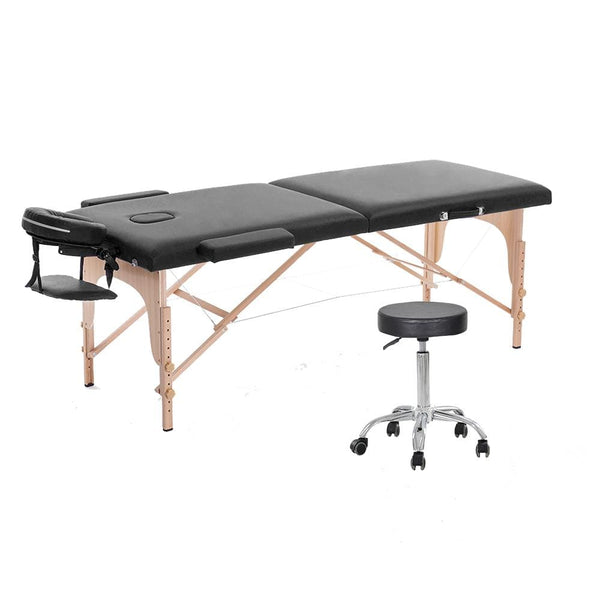 wooden tattoo & massage table chair stool tattoo studio furniture package