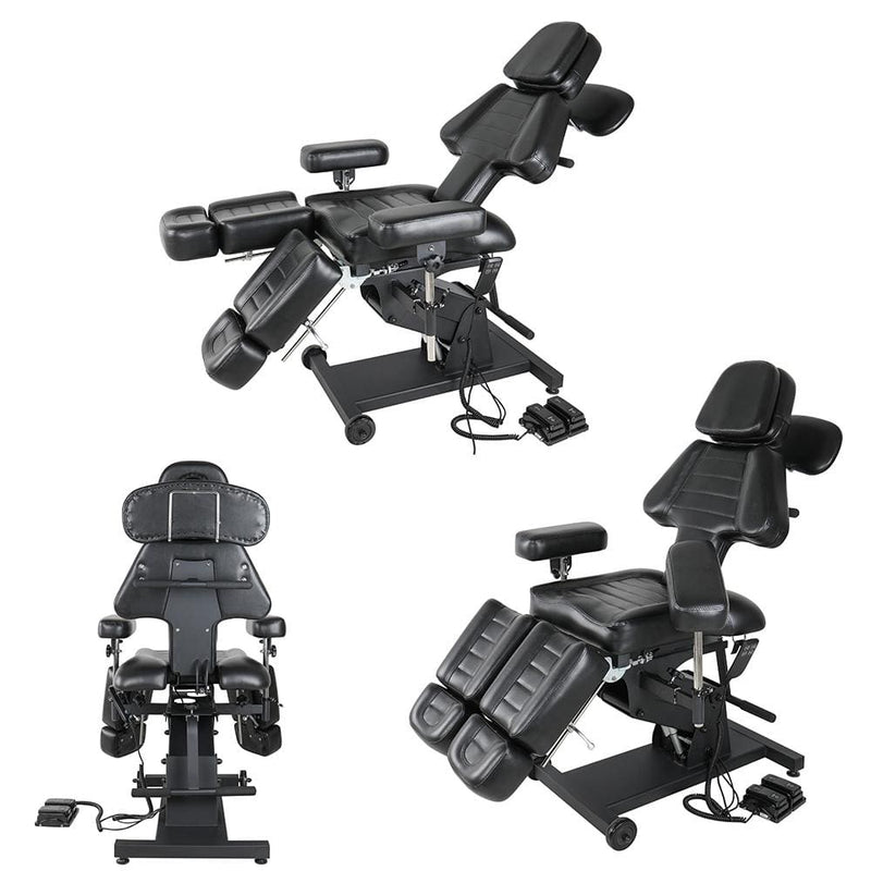 2 motors ink client chair multi-functional tattoo chair tattoo equipment