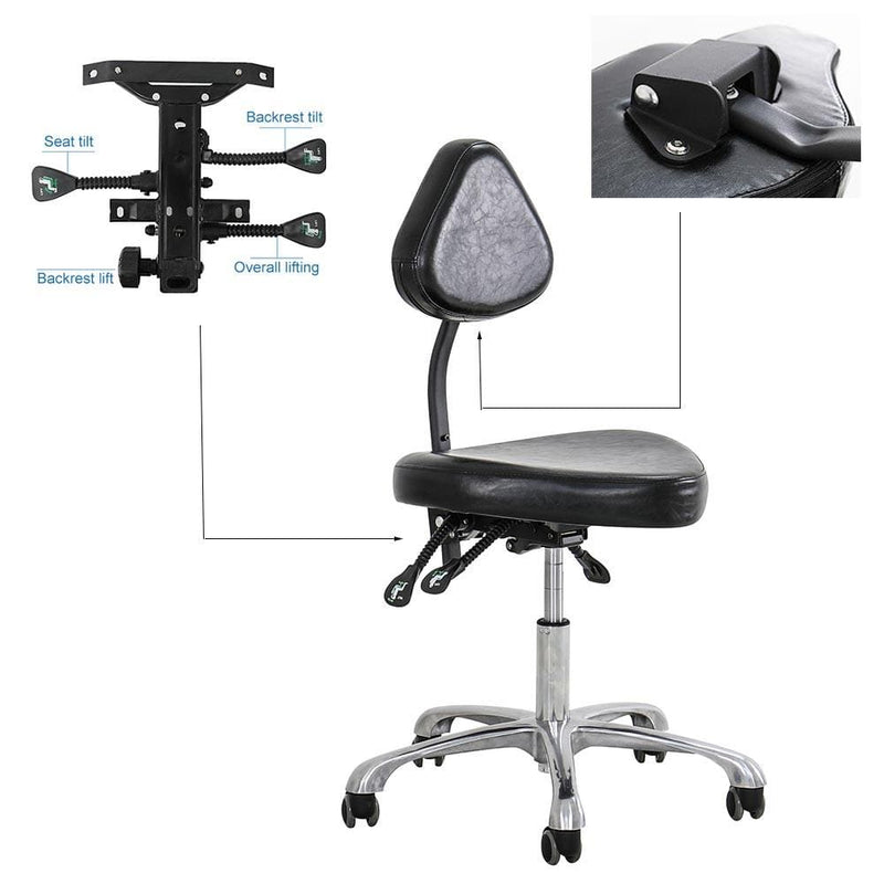 Ergonomic tattoo stool hydraulic multi-functional adjustable tattoo artist chair