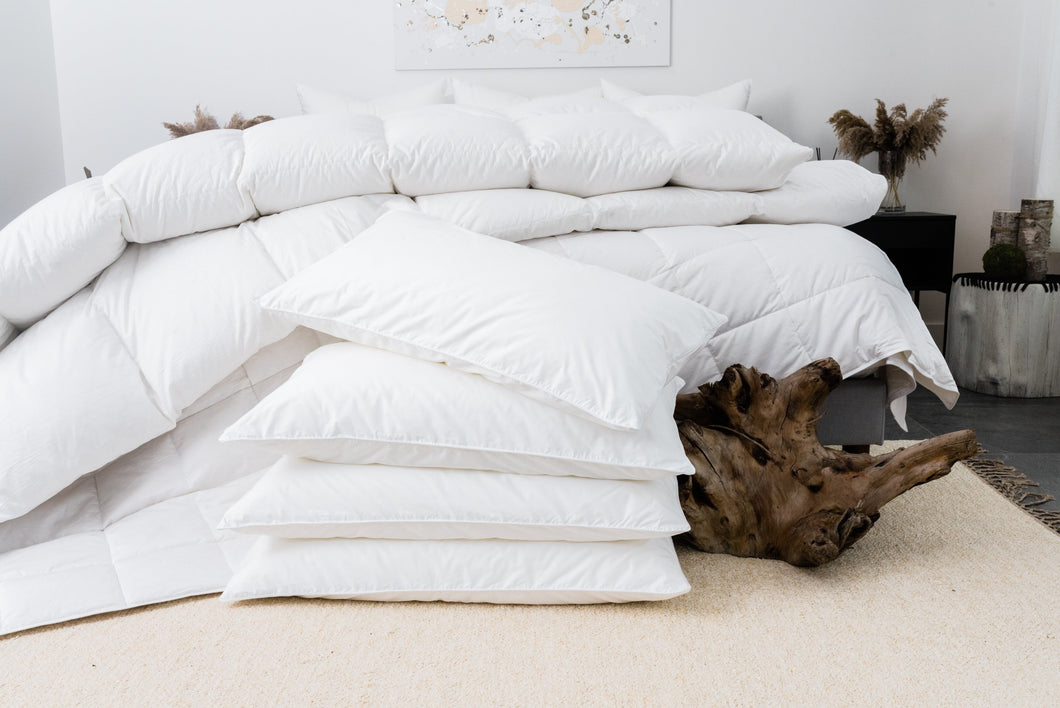 Ultra Luxe Vegan Down Pillows
