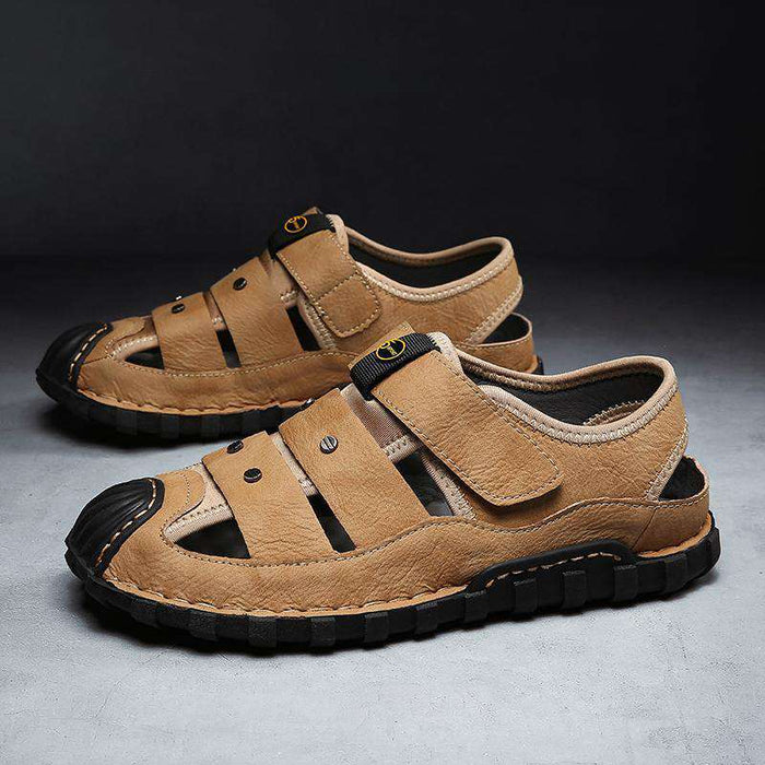 Men's Soft Leather Handmade Sandals