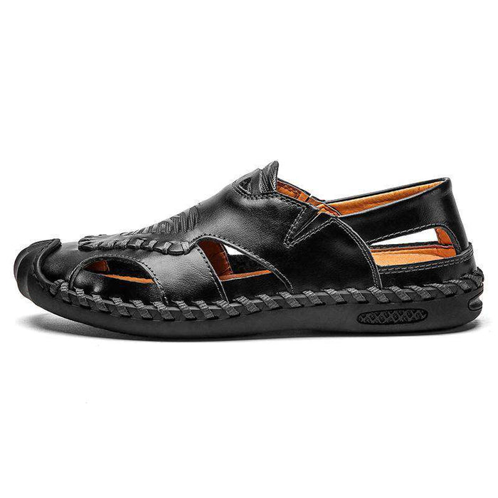 Men's Genuine Leather Breathable Sandals